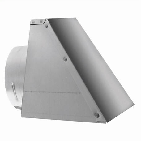 DuraVent PelletVent 3 in. Square Horizontal Cap, 3PVL-HSCR