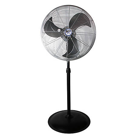 Ventamatic Oscillating Pedestal Fan, Silver, 70 in  x 24 in , HVPF 22  OSCUPS at Tractor Supply Co