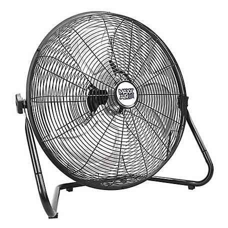 Ventamatic MaxxAir 20 in. High Velocity Floor Fan, Black, HVFF20UPS