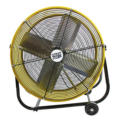 Ventamatic 24 in. Tilt Floor Fan, Yellow, BF24TFYELUPS