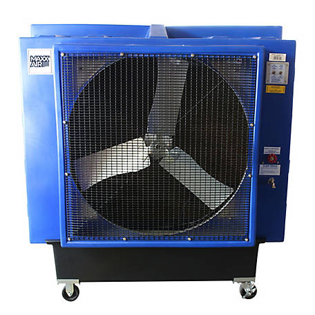 Ventamatic Maxx Air 36 In. 1-Speed Evaporative Cooler for 2,600 sq. ft., Blue, 66 in. x 31 in., EC36D1