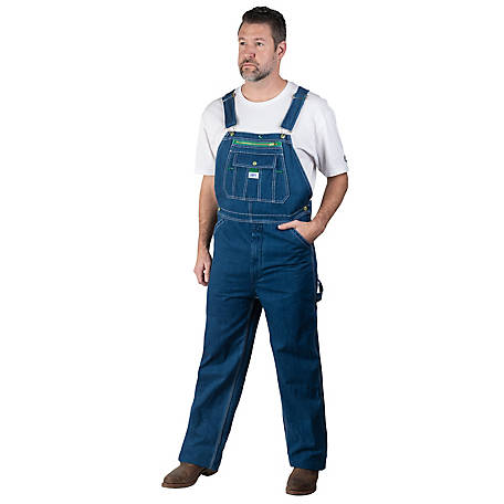 Liberty Men's Stonewashed Denim Bib Overalls