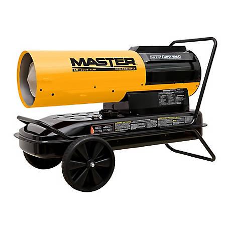 Master 220 000 Btu Kerosene Forced Air Heater Mh 220t Sdr