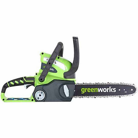 Greenworks 20292 G-MAX 40V 12 in. Cordless Chainsaw (Tool Only)