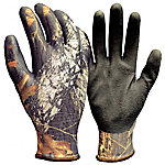 TrueGlo True Grip Men's Camo Nitrile Dip Gloves