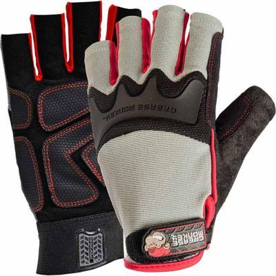 Grease Monkey Men's Pro Fingerless Gloves