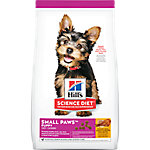 Hill's Science Diet Puppy Small & Toy Breed Dog Food, 4.5 lb. Bag