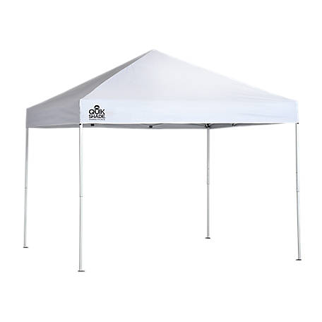 ShelterLogic Slant Leg Sport Pop-up Canopy with Purple Cover, 10 ft. x 10 ft.