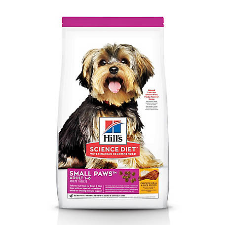 Hill's Science Diet Adult Small & Toy Breed Dog Food, 15.5 lb.
