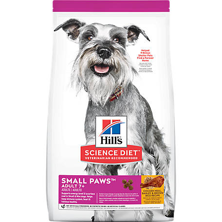 Hill's Science Diet Adult 7+ Small & Toy Breed Dog Food, 4.5 lb.