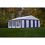 ShelterLogic Enclosure Kit with Windows for Party Tent, 20 ft. x 20 ft.
