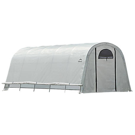 ShelterLogic GrowIt Backyard Greenhouse, 6 ft. x 8 ft. x 6-1/2 ft.