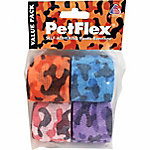 Andover PetFlex Self Adhering Elastic Bandage, Camo Colorpack, Pack of 4
