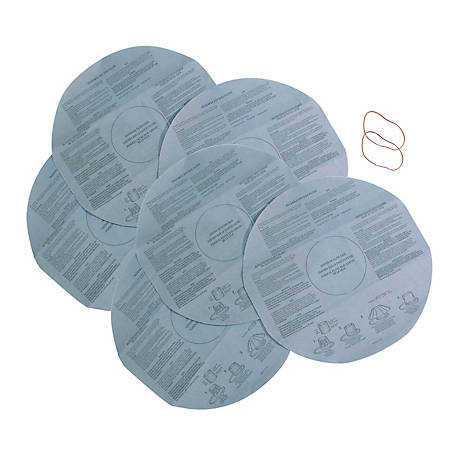 Multi-Fit Wet/Dry Vacuum Filters VF2002TP Dry Vacuum Filters, Pack of 2