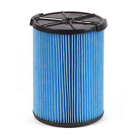 Workshop Wet/Dry Vacuum Filter WS22200F Fine Dust Wet/Dry Vacuum Filter Single Shop Vacuum Cleaner Filter Cartridge