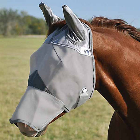 Cashel Crusader Fly Mask, Long with Ears