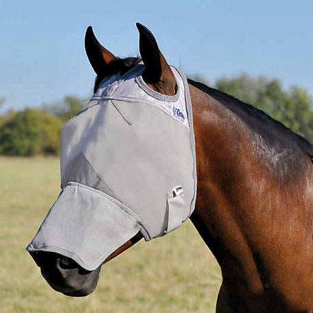 Cashel Crusader Fly Mask, Long Nose