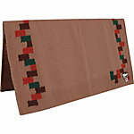 Cashel Navajo Saddle Blanket with Zigzag Pattern