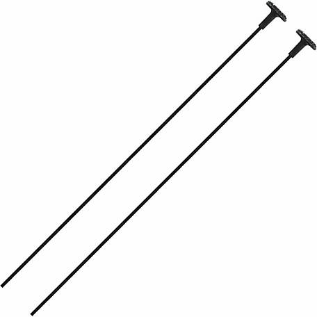 Gun Storage Solutions Rifle Rods, 17 Caliber, Pack of 2