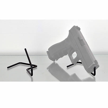 Gun Storage Solutions Kikstands, Black, 3-3/4 in. W x 3-1/4 in. H x 6 in. D, Pack of 2
