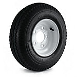 Kenda Loadstar Trailer Tire and 5-Hole Wheel (5/4.5), 480/400-8 LRC
