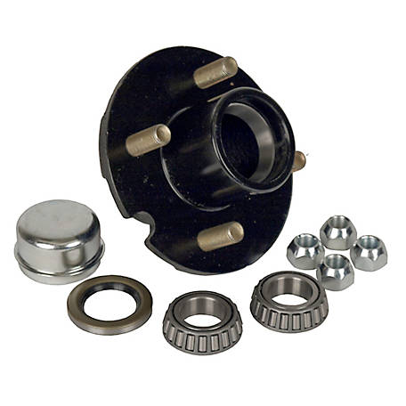 Martin Wheel 4 Bolt Pressed Stud Hub Repair Kit for 1 in. Axle, H4-C-PB-B