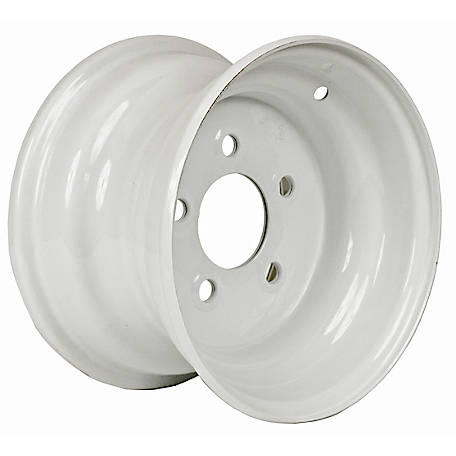 Martin Wheel 5-Hole Steel Trailer Wheel, 10x6