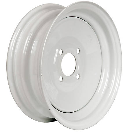Martin Wheel 4-Hole Steel Trailer Wheel, 12x4, 4 hole