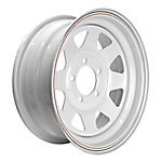 Martin Wheel 5-Hole Steel Custom Spoke Trailer Wheel, 14x5, 5 hole