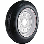 Kenda Loadstar Trailer Tire and 4-Hole Mod Wheel, 480-12 LRC