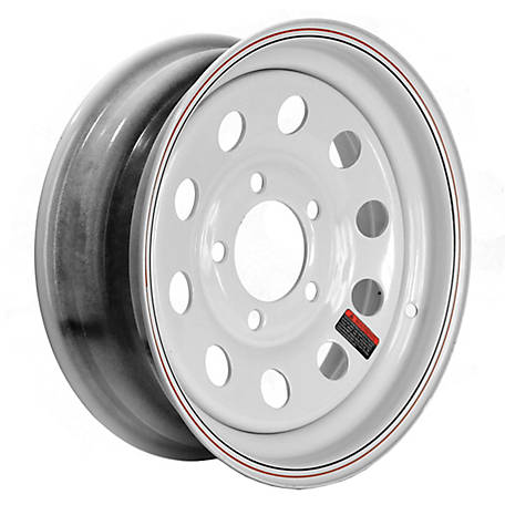 Martin Wheel 13 in. Steel Mod Trailer Wheel/Rim, 13X4.5 (5 Hole)