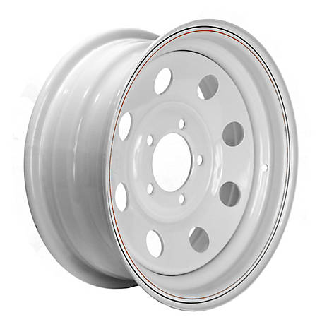 Martin Wheel 14 in. Steel Mod Trailer Wheel/Rim, 14X5.5 (5 Hole)