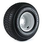 Kenda Loadstar Trailer Tire and 4-Hole Wheel, 215/60-8 (18X850-8) LRC