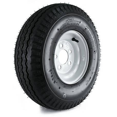 Kenda Loadstar Trailer Tire And 5 Hole Wheel 4 570 8 Lrb