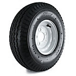 Kenda Loadstar Trailer Tire and 5-Hole Wheel (5/4.5), 570-8 LRB