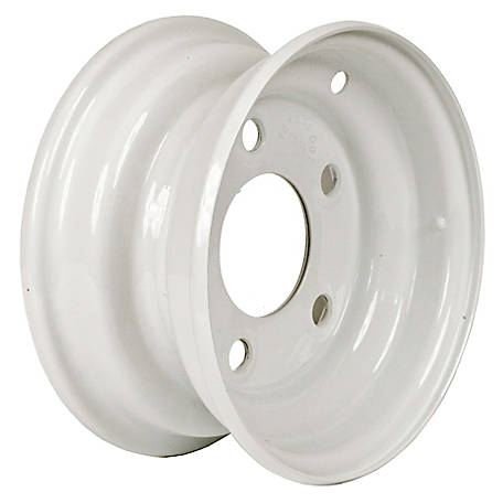 Martin Wheel 5-Hole Steel Trailer Wheel, 8x3.75, 5 hole