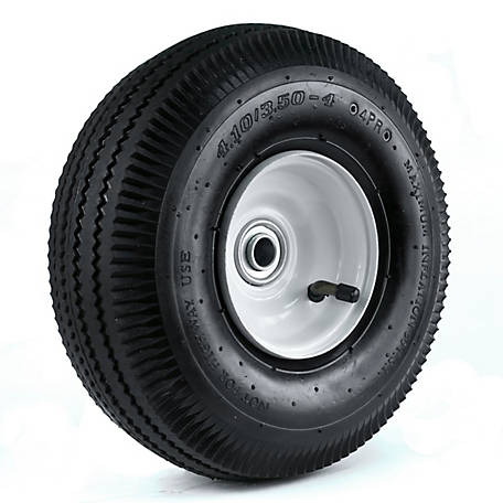 Truck Wheels And Tires >> Martin Wheel 410 350 4 10 In Sawtooth Hand Truck Wheel 2 1 4 X 5