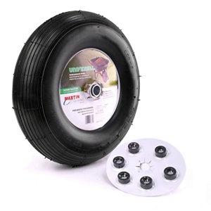 Wheelbarrow And Garden Cart Wheel With Universal Hub 5 8 In Ball Bearing
