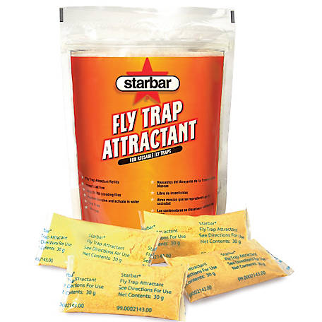 Starbar Fly Attractant Refill, Pack of 8