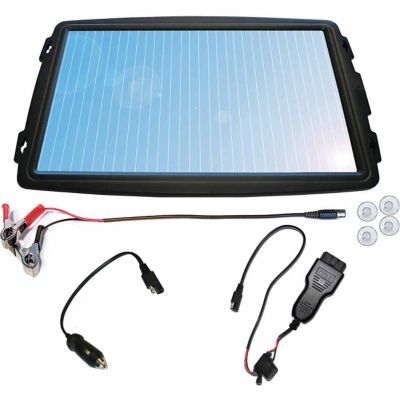 Coleman 4 Watt 12-Volt Solar Panel Battery Trickle Charger with OBD-II Connector