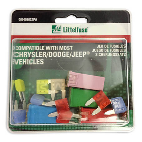 Littelfuse Kit Emergency OEM, Chrysler/Dodge/Jeep