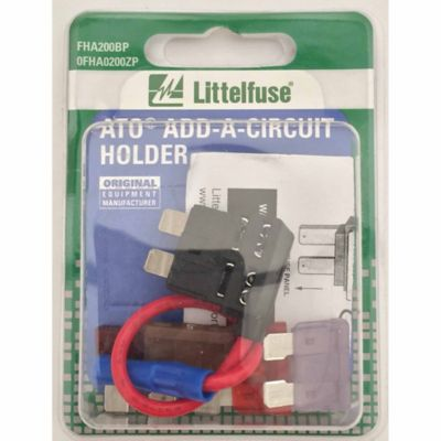 Buy Littelfuse Holder ATO Add-A-Circuit 16AWG Card Online