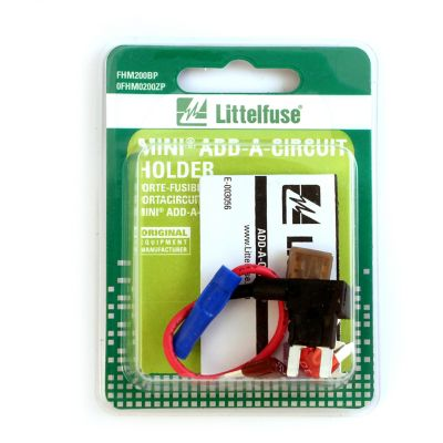 Buy Littelfuse Holder Mini Add-A-Circuit 16AWG Card Online