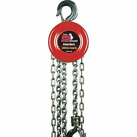 Big Red 1 Ton Chain Block
