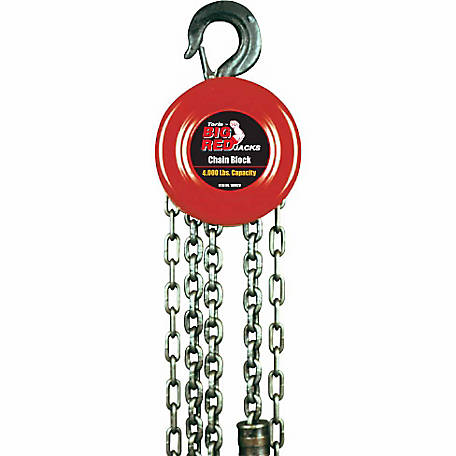 Big Red 2 Ton Chain Block