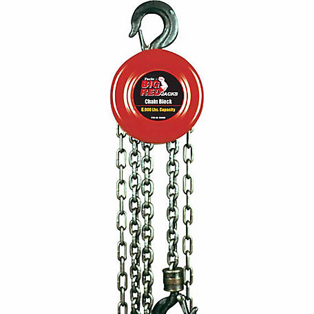 Big Red 3 Ton Chain Block