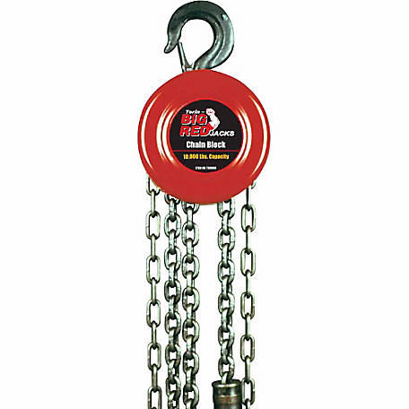 Big Red 5 Ton Chain Block