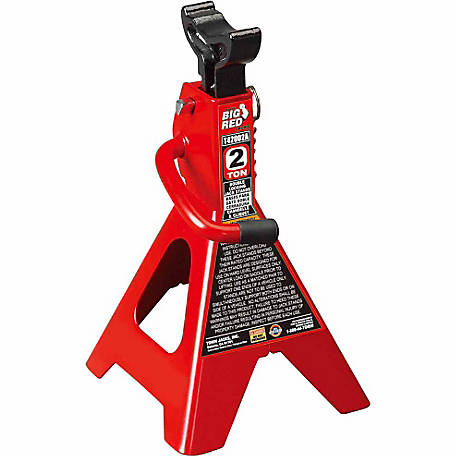 Big Red 2 Ton Double Locking Jack Stands