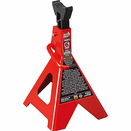 Big Red 6 Ton Double Locking Jack Stands