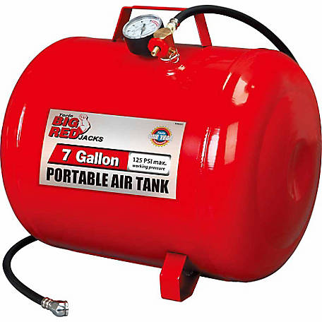 Big Red 7 Gallon Portable Air Tank